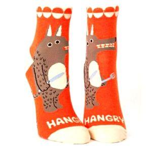 Blue Q Hangry Ankle Socks